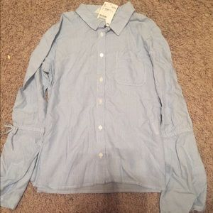 H&M 10/12 stripped shirt